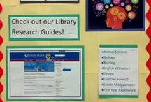Library Bulletin Boards & Displays / Bulletin board displays at Worcester and Leicester libraries. / by Becker Libraries