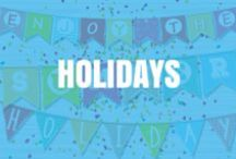 Holidays! / by Turn The Page Online Marketing