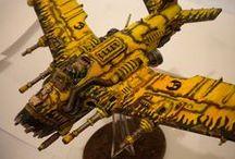 warhammer, goblins, vehicles / scrap metal, alloy, wood, airship, crazy