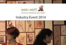 MTM Events / Check out what our students and staff are up to from field trips to life in our studios! / by Max the Mutt College of Animation, Art & Design