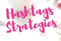 Hashtag Strategies / Hashtags are very Powerful tools guiding you on how best to find your targeted customer.  This Pinterest Expert Board gives you best ways on where and how best to apply them into your content marketing.
