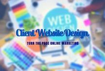 Client Website Design / Take a look at some of our recent client website projects! / by Turn The Page Online Marketing
