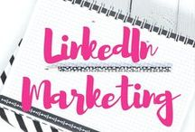 LinkedIn Marketing Strategies / LinkedIn Marketing Strategy Board is about educational #infographics which can help you understand aspect of using LinkedIn.