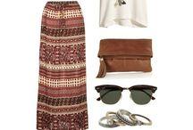 Faldas - Maxi Skirt