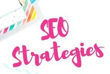 SEO Strategies / SEO Strategy Pinterest Expert Board is filled with #SEO (Search Engine Optimization) #infographics which can help you better understand how to apply SEO for your daily blogging efforts.