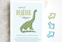 Dinosaur Party / Have a ROARING good time throwing a dinosaur party!