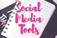 Social Media Tools / Discover many Social Media tools in this Pinterest Board which  can help you with your daily Social Media efforts. To learn more on how you too can boost your social media presence, visit my blog www.annazubarev.com