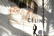 Céline / Phoebe Philo is the art director of the French label. Her designs are characterised by innovative chic and clear structures. We love her collections form head to toe.