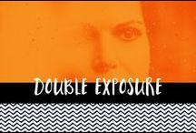 Double Exposure Portraits / Double Exposure Portraits