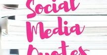 Social Media Quotes / This Pinterest Board is about Social Media Advice and Quotes to help you better understand what Social Media is about.