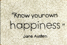 Jane Austen. / all things Jane Austen / by Erin Young
