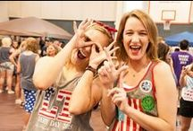 Mississippi College: Tribe Life / Here at MC we have our own version of Sororities called Tribes. Check out our board about how they do what they do: sisterhood and service.