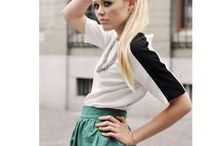 green skirt / by fee huhu