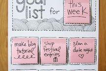 Checklists! / by Organizing Made Easy, LLC