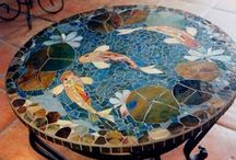 Mosiacs / Inspiration for mosaics I want to make.  / by Laura