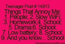 Things that annoy me! / by Kendra Erickson