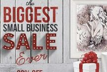The Biggest Small Business SALE Ever / Over 80,000 products from unique and small businesses. Note: Sale ends Cyber Monday!