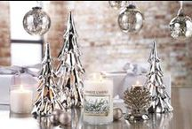 Woodland Shimmer - Home Accents / From seasonal charm to everyday elegance, jar shades complement our classic large and medium jar candles to accent any room with the perfect touch of style. Plus, they help reduce drafts so that the candle flame burns more evenly. / by Yankee Candle: Scented Candles | Home & Car Air Fresheners, Fragrances & Decor