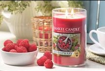 Red Raspberry / Tangy sweet and full of nature's goodness, there is nothing quite as delicious as ripe, rosy red raspberries. Always a welcome addition when they are in season, this delightful fragrance lets you enjoy this blissful fruit's freshly-picked aroma, with just a hint of sweetness, any time of year. / by Yankee Candle: Scented Candles | Home & Car Air Fresheners, Fragrances & Decor