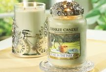 Picnic In The Park / Imagine being stretched out on a soft blanket under a shade tree, while hints of your favorite fruits. . . mango, coconut and strawberry. . . float in on the breeze like an afternoon daydream / by Yankee Candle: Scented Candles | Home & Car Air Fresheners, Fragrances & Decor