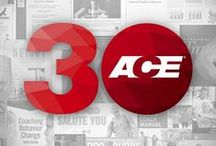 ACE's 30th Anniversary / In 1985, ACE was formed to address the need for certification in the exercise industry and has since then grown into the world's largest nonprofit fitness certification organization. As part of our celebration, we will be sharing noteworthy events from 1985-2014 each day this month on social media. Please join in on the fun by telling us how each of these events has influenced your life or career in health and fitness. / by American Council on Exercise