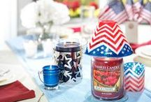 Fourth Of July / All your decor needs and ideas to make this 4th of July Scentsational  / by Yankee Candle: Scented Candles | Home & Car Air Fresheners, Fragrances & Decor