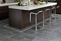 """Karndean Knight Tile Stone / """"Karndean from £24 per square metre – We Will Price Match any Supply & Fitted Quote! Welcome to Newcastle Kitchen & Bedroom Co for Karndean Newcastle. We supply and fit Karndean flooring across Newcastle and the North East. Call 0191 414 7879 to find out more."""