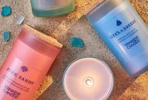 Sunshine and Summertime / Light a Summer Dream - seasonal scents that bring summer to life