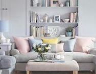 Pastel Interiors / Nothing brings a calm, light vibe to a room quite like pretty pastels. This board can show you the best ideas to use pastel to decorate your house: http://newcastlekitchenandbedroomco.co.uk/