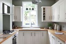 Small Kitchen Ideas / We are continually working towards bringing you everything you could ever want in your kitchen. We offer our customers a real choice about the kind of kitchen they want to achieve; a completely unique hand-crafted kitchen or a cutting-edge contemporary design: http://newcastlekitchenandbedroomco.co.uk/