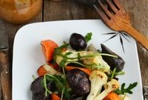 recipes + salads, sides and soups / by Zei