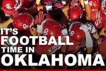 Football / There's only One Oklahoma! All things OU football  / by Donna Bermea
