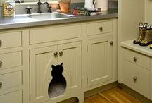 Great Ideas for Pets / Cool, crafty, ideas for dogs and cats. Dog beds, dog condos, dog house, cat beds, cat condos, cat trees and cat shelves