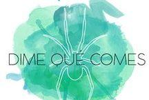 Dimequecomes / Las recetas publicadas en el blog, las fotos de instagram, las nutricosas...