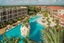 Coco Beach Resort / Nestled 3.5 miles north of San Pedro on the island of Ambergris Caye is a haven for romance, barefoot luxury, relaxation, and adventure known as Coco Beach Resort.