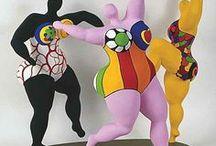 Niki de St Phalle / by M.Spruijt (art teacher)