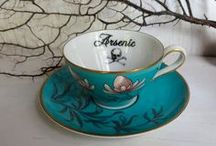 There is nothing more civilised than a pot of tea. / teapots, teacups, tea time, tea parties, tea towels, etc!