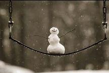 Winter / Winter, sneeuw kou, donker en heel veel gezelligheid en sfeer.