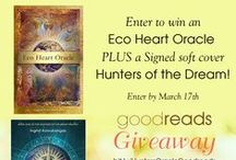 Eco Heart Oracle / This 48 card oracle deck was created by Ingrid Koivukangas, an environmental artist working with site energies, dreams and deep meditation to reconnect people back to the Earth and Nature. The Oracle brings forward messages from nature spirits and animal and plant messengers. The guidebook includes mythological and symbolic meanings for each card plus messages received during deep meditations. Use the Oracle for daily guidance or for a more in-depth reading. Order yours at www.EcoHeartOracle.com