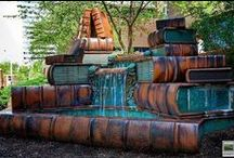 Bookish things / Library´s book benches, book gifts - anything!