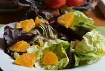 Salads / Amazing salads, feasts for the eyes and the body.
