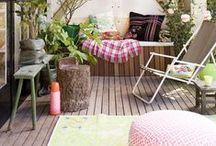Leen Bakker Terrasideeen / Terras - Genieten - Kleur - Ideeën - Wensen - Samen zijn - Spelen - Zon - Rust - Sfeer
