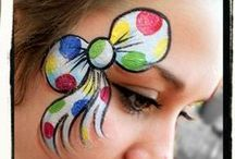 Face Painting / Some of these are simple and quick (like for parties - when time is at a premium!). Others (more elaborate) are posted because they are just so awesome!