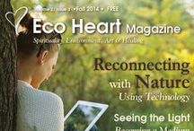 Eco Heart Magazine - Fall 2014 / A magazine about Spirituality, Environment, Art & Healing. Get your free subscription to this quarterly magazine at: www.EcoHeartMagazine.com Contributors and articles in the Autumn 2014 issue of Eco Heart Magazine.