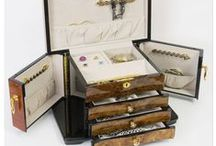 Jewelry boxes and giftware / Artisan-made jewelry boxes and designer giftware.