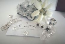 ELVETIA Collection. / Each piece is unique. Made with passion and love in Switzerland. Swiss crystals and Swiss smokey quartz. Collected and Crafted in Switzerland.