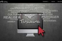 T V.O N.Z E.W E B / - Web design for the website TvOnZeWeb - + Background, typography, images and layout creation.
