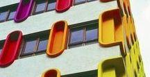 FACADE COLOR / Цветовые решения фасадов зданий