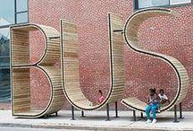 BUS STOP / Автобусные остановки