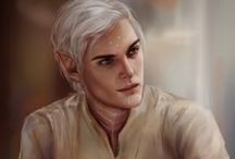 Port Skyhold: Fenris / guard and owner of the Blooming Rose